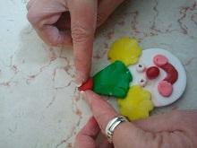 יצירה מבצק סוכר