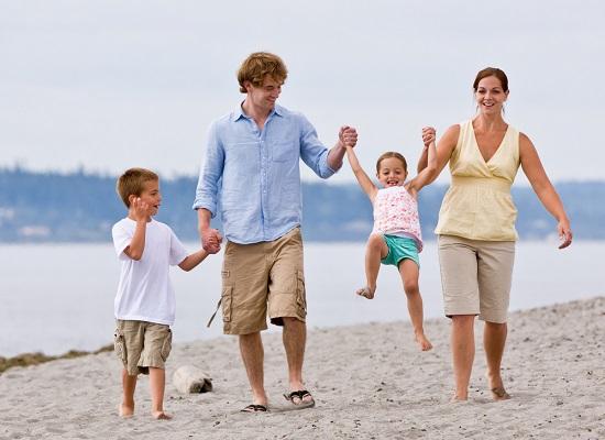 יוצאים לחופשה עם הילדים