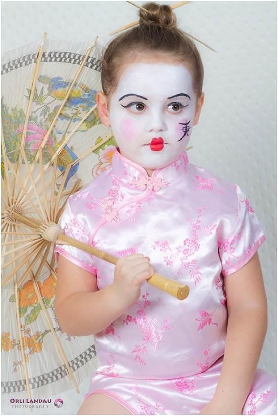 איפור יפנית