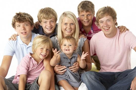 משפחה גדולה עולה כסף