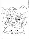 משפחת אנשי שלג