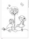 ילדים שותלים עץ