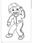 ילד עם כובע