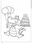תנין חוגג יום הולדת