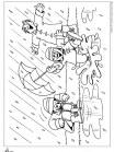 דף צביעה גשם